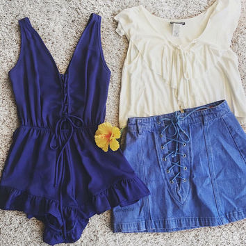 Play Romper (Royal)