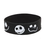 Disney Nightmare Before Christmas Jack Rubber Bracelet - 181616
