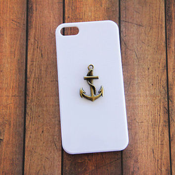 White iPhone 5c Cover Phone Case Anchor Anchor Phone Cases Anchor Skin iPhone 5 Galaxy S3 White Case Galaxy S4 White Case iPhone 5 Case