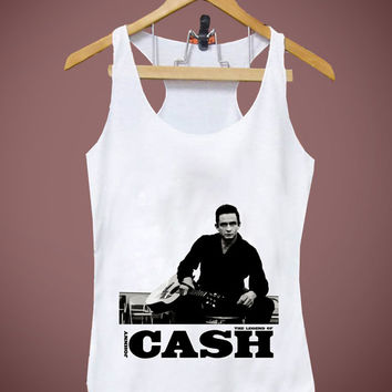 Popular item on Etsy Johnny Cash Tank Women and Men, Harry Potter, Tshirt, Shirt, Tank top, Men, Women by Balikaos