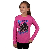 Ed Hardy - Dangerous Panther Girls Youth Long Sleeve