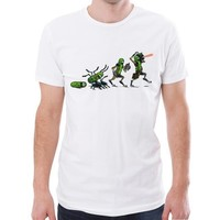Rick And Morty Pickle Evolution Funny T-Shirt