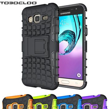 Rugged Hybrid Armor For Samsung Galaxy J1 J3 J5 J7 Prime A3 A5 2016 2017 S3 S4 S5 S6 S7 edge S8 Plus Phones Case Proof Cover