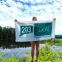 Two Oh Three Beach Towels - FINAL SALE