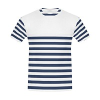 Striped Men's Casual T-Shirt