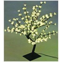 "Decorative 17 3/4"" Cherry Blossom Tree LED Accent Light 