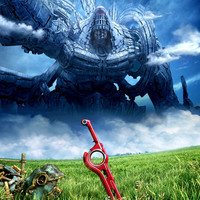 Xenoblade Chronicles video game poster 18x24