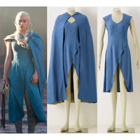 Game of Thrones Mother of Dragon Daenerys Targaryen Cosplay Costume