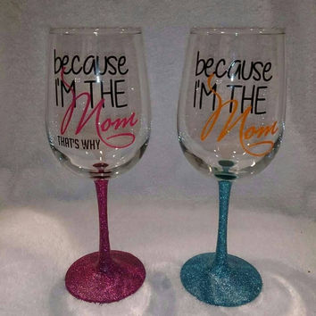 Mother's Day Wine Glass Decal for the DIY in you