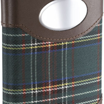 Visol Edinburgh Plaid Cloth Wrapped Stainless Steel Hip Flask - 8oz
