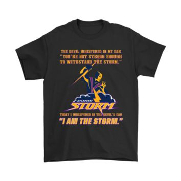 ESBCV3 I Whisper In The Devil's Ear I Am The Storm Melbourne Storm NRL Shirts