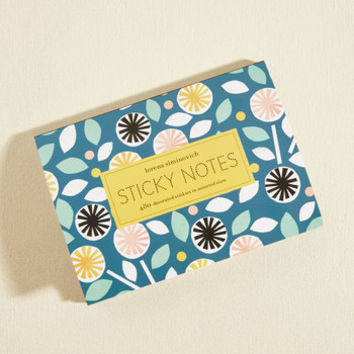 Bright Back At Ya Notepad Set | Mod Retro Vintage Desk Accessories | ModCloth.com