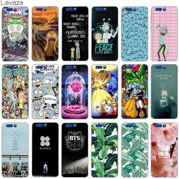 Lavaza Rick and Morty Bts Bangtan Boys Beauty And The Beast Case for Huawei Honor 7a 7c Y6 9 P20 P Smart Lite Pro Plus Prime