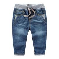Fashion boys clothing kids boys jeans children pants jeans autumn denim jeans for kids teen boy trousers 2-10T