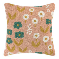 Garden Floral Peach Pillow