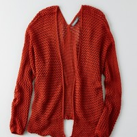 DON'T ASK WHY OPEN KNIT CARDIGAN