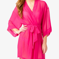 Chiffon Sleep Robe