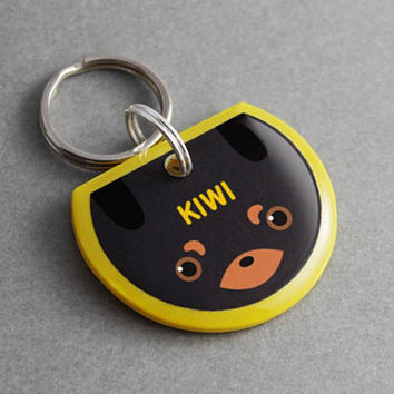 Dog ID Tag Dachshund - Personalized, Custom, Pet ID Tag, Dog Tag, Dog Collar, Puppy Collar, Dog Leash, Dog Lover Gift, Dog Clothes, Cute