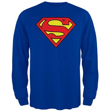Superman - Shield Long Sleeve T-Shirt
