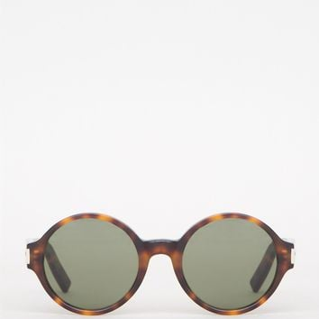 Classic 63 Sunglasses in Havana/Green