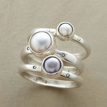 Pearl Sisters Ring Trio | Robert Redford's Sundance Catalog