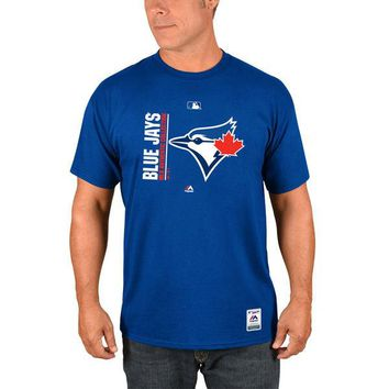 Men's Toronto Blue Jays Majestic Royal Authentic Collection Team Icon T-Shirt