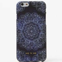 Me To We Navy Mandala iPhone 6/6s - Womens Scarves - Blue - One
