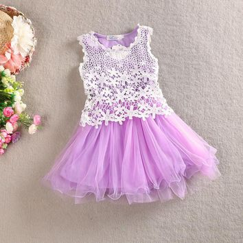 3 Colors Children Kids Cute Princess Dress Flower Girls Wedding Formal Party Floral Dresses Dancewear Cute Dresses Kids Clothes