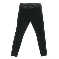 Kut From The Kloth Womens Ponte Contrast Trim Skinny Pants