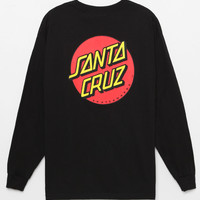 Santa Cruz Classic Dot Long Sleeve T-Shirt at PacSun.com