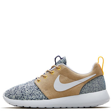 buy popular 77672 8344a Nike x Liberty Light Blue Anoosha and Lora Liberty Print Roshe Run Trainers    Shoes by
