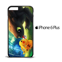 toothless and pikachu Y1835 iPhone 6 PLus Case