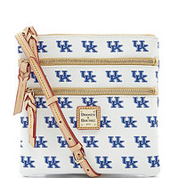 Dooney & Bourke University of Kentucky Triple Zip Cross-Body Bag - Whi