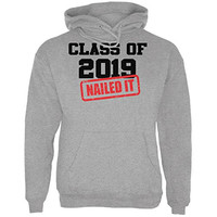 Graduation - Class of 2019 Nailed It Mens Hoodie