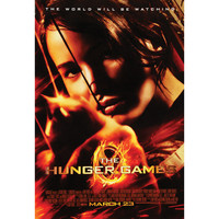 Hunger Games - Domestic Poster