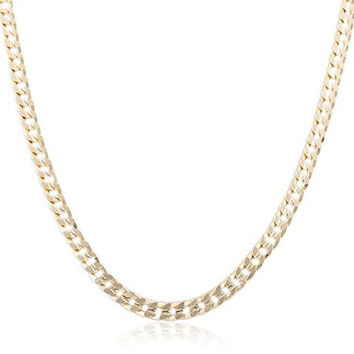 7mm Frosted Cuban Chain