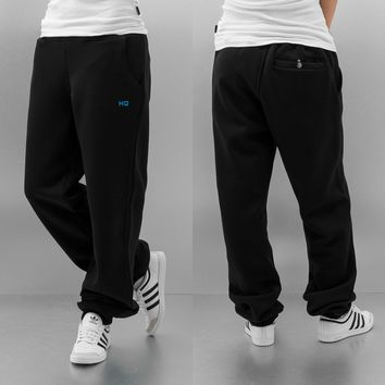 HQ Tesa Sweat Pants Black/Blue von Def-Shop.com