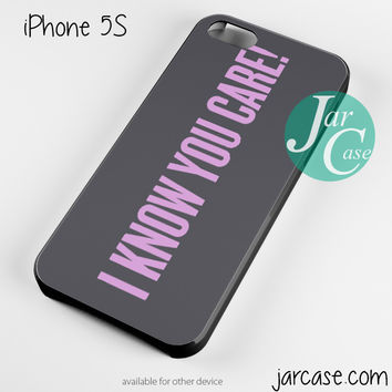 Beyonce I Know You care Phone case for iPhone 4/4s/5/5c/5s/6/6 plus