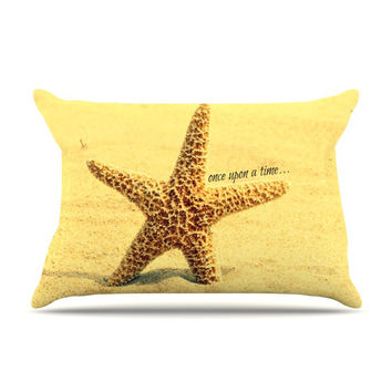 "Robin Dickinson ""Once upon a Time"" Starfish Pillow Case"