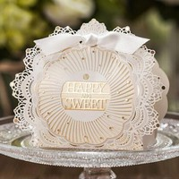Paper bags for gifts Lace wedding favors Box Sweet