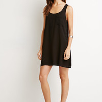 Ladder-Back Shift Dress