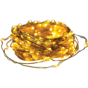 Axis Metallic Copper Led Micro-dot String Lights (65ft)