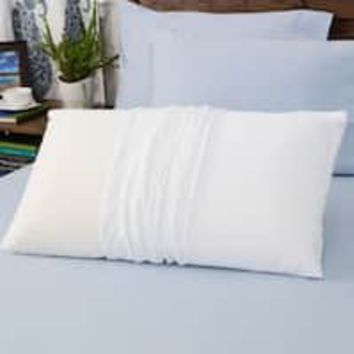 Touch of Comfort Gel Memory Foam Micro-cushion Pillow (Set of 2) | Overstock.com Shopping - The Best Deals on Memory Foam Pillows