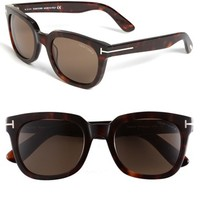 Women's Tom Ford 'Campbell' 53mm Sunglasses - Shiny Dark Havana
