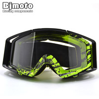 Motocross Goggles Motorcycle goggles Glasses ATV Clear Lens Ski Helmet Googles Off-road for Kawasaki z750 z800 z1000 YZF MT 07