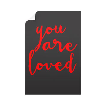 Vertical Wall Decals, You are loved gift, love gift ideas, Love quotes