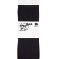 H&M - 100 Denier Control-top Tights - Black - Ladies