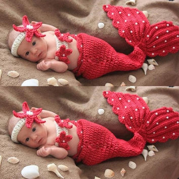 Best Crochet Baby Mermaid Costume Products On Wanelo