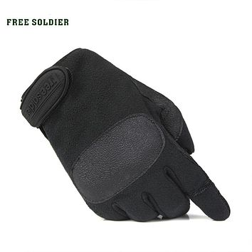 outdoor camping riding climbing hiking training tactical glove men's gloves full-finger gloves