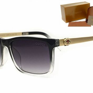 Gucci sunglass AA Classic Aviator Sunglasses, Polarized, 100% UV protection [2974244890]